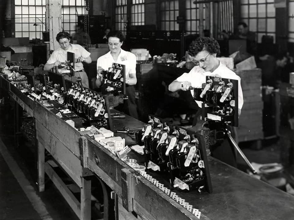 Parts assembly; around 1940