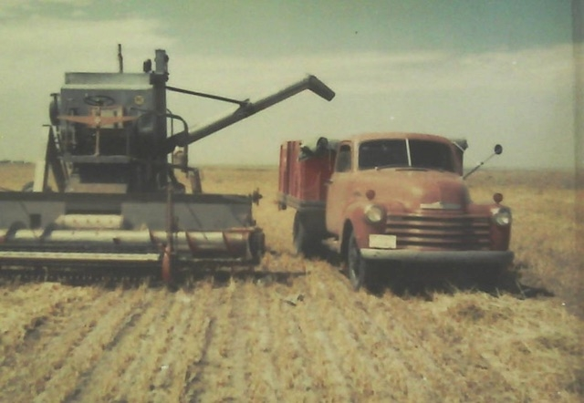 Harvest from an earlier time