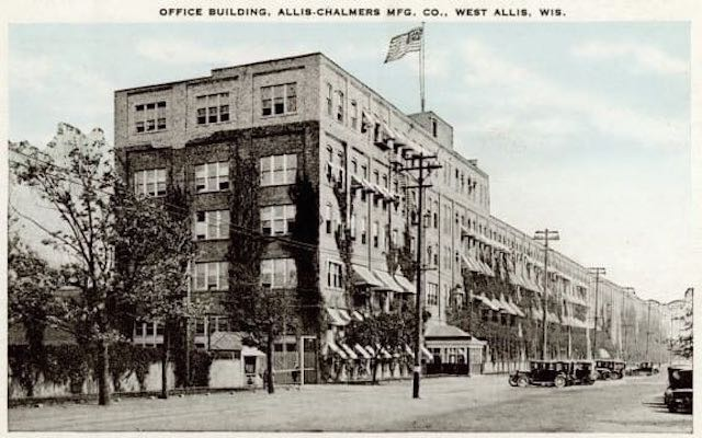 Office building, Allis Chalmers Mfg., West Allis, Wisc.
