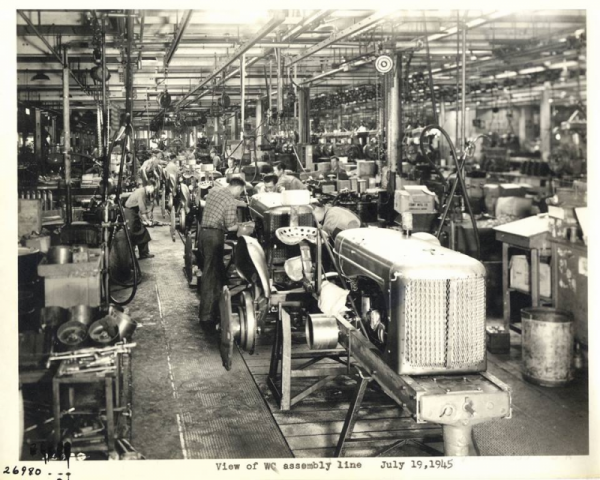 WC assembly line